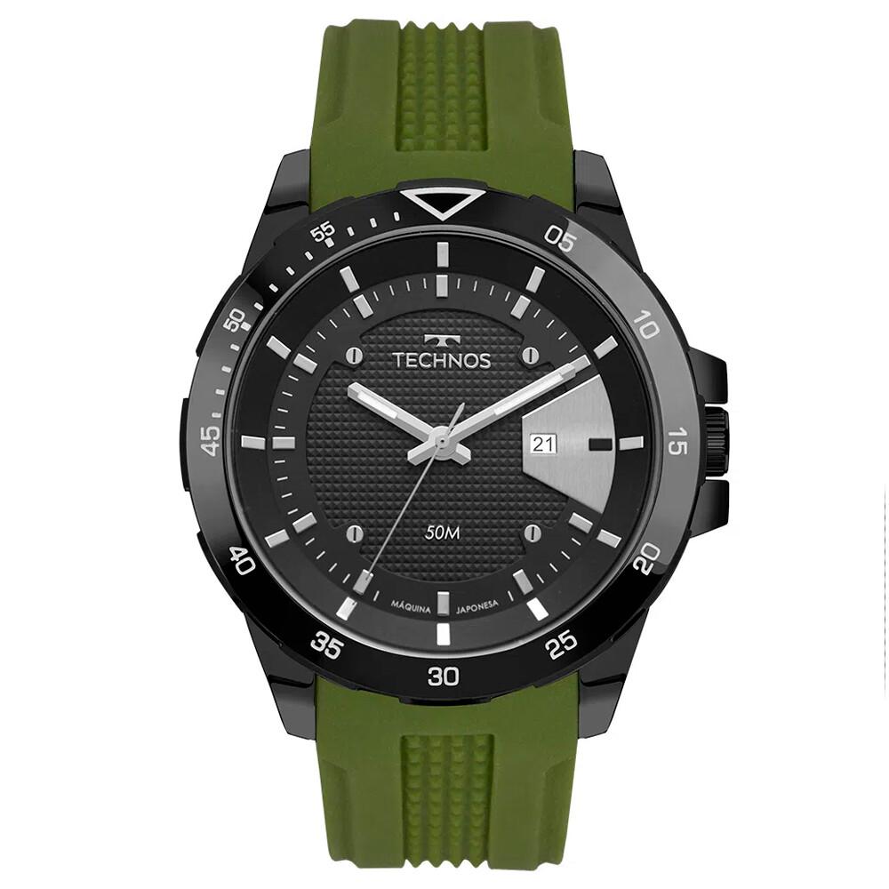 Relógio de Pulso Technos Masculino com Pulseira de Silicone 2115MTJ