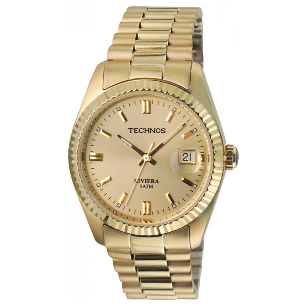 Relógio de Pulso Technos Riviera Masculino 2115EF