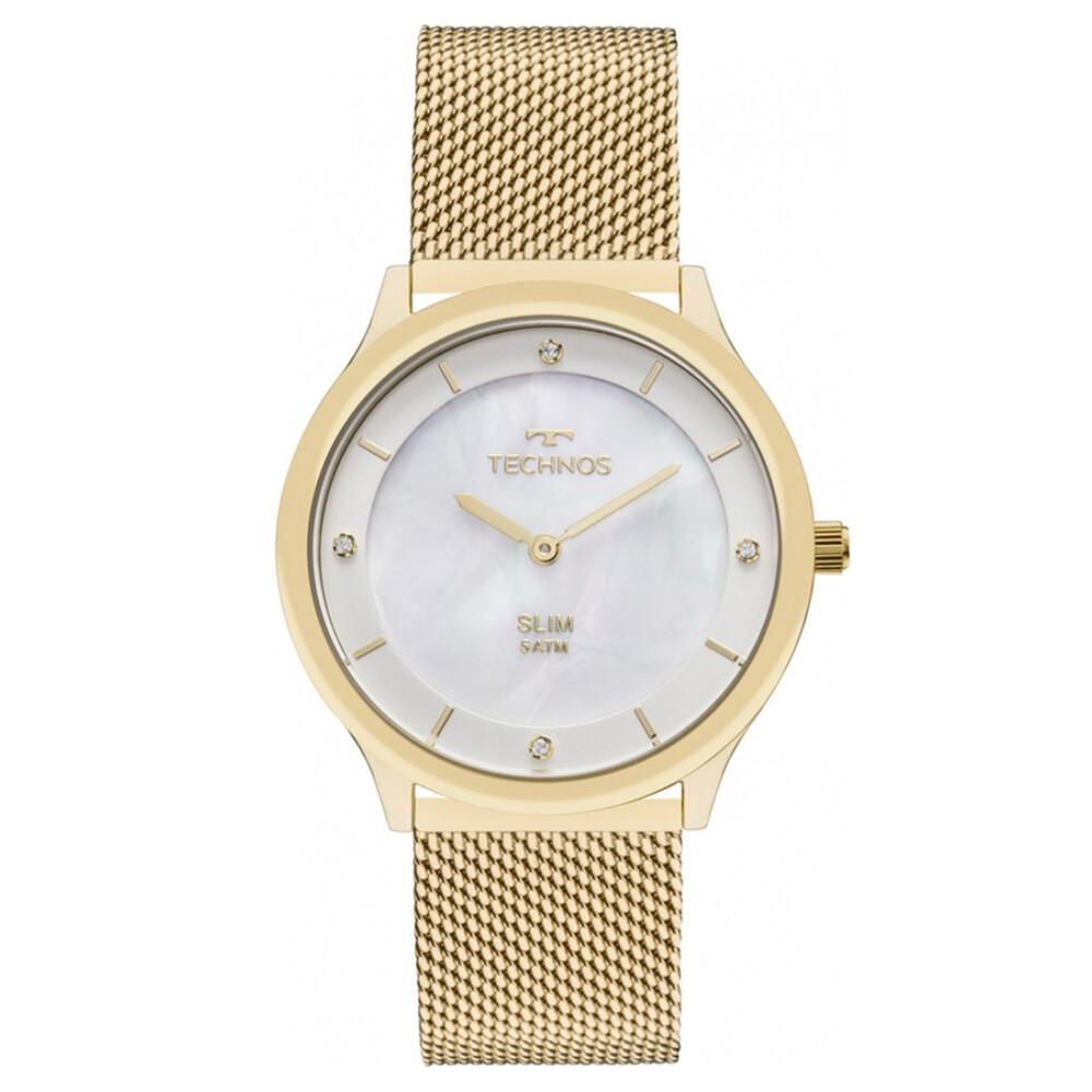 Relógio de Pulso Technos Slim Feminino GL20HH