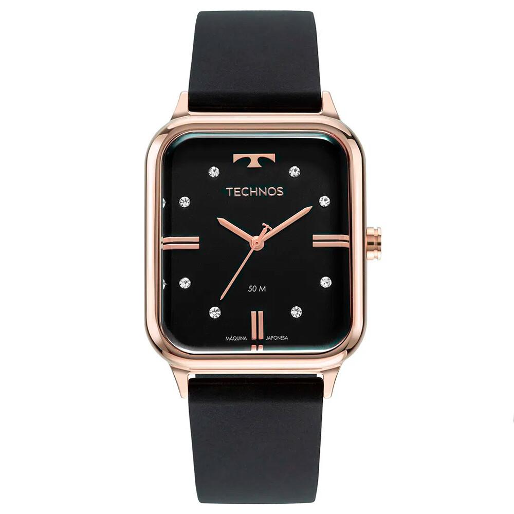 Relógio de Pulso Technos Style Feminino com Pulseira de Silicone 2039CS