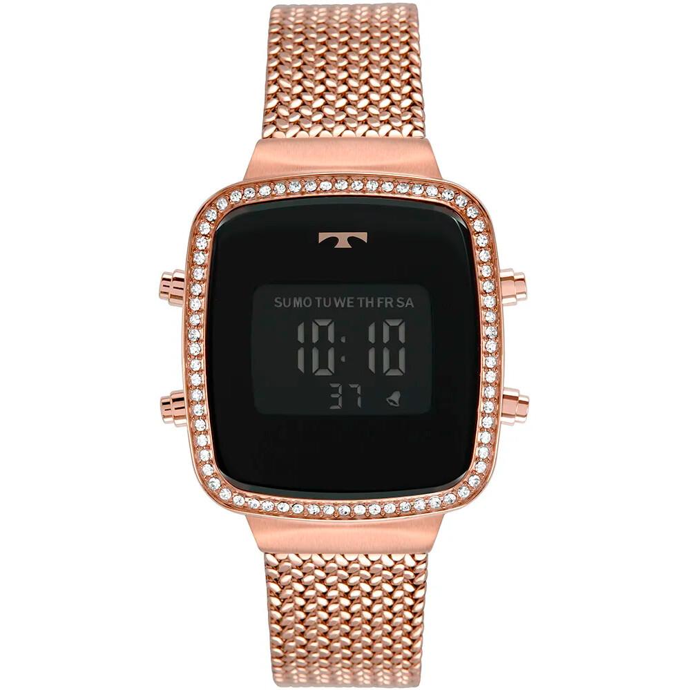 Relógio de Pulso Technos Trend Feminino com Pulseira Esteirinha BJ3478A