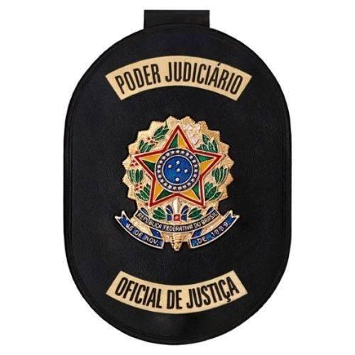 Distintivo de Oficial de Justiça