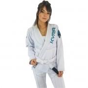 Kimono Jiu-Jitsu Feminino Kvra Shadow - Branco