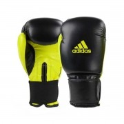 Luva Boxe Adidas Power 100 Colors - Amarelo