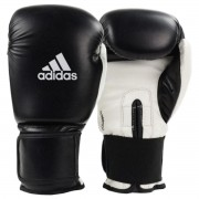 Luva Boxe Adidas Power 100 Colors - Preto