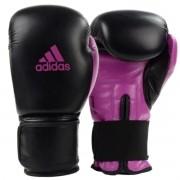 Luva Boxe Adidas Power 100 Colors - Preto e Rosa