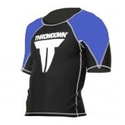 Rash Guard Throwdown Classic - Preto e Azul