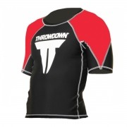 Rash Guard Throwdown Classic - Preto e Vermelho