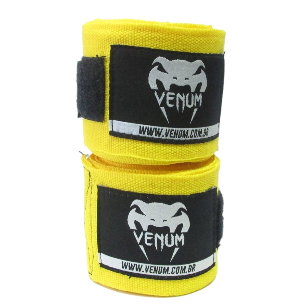 Bandagem Elástica Venum 4 Metros - Amarela