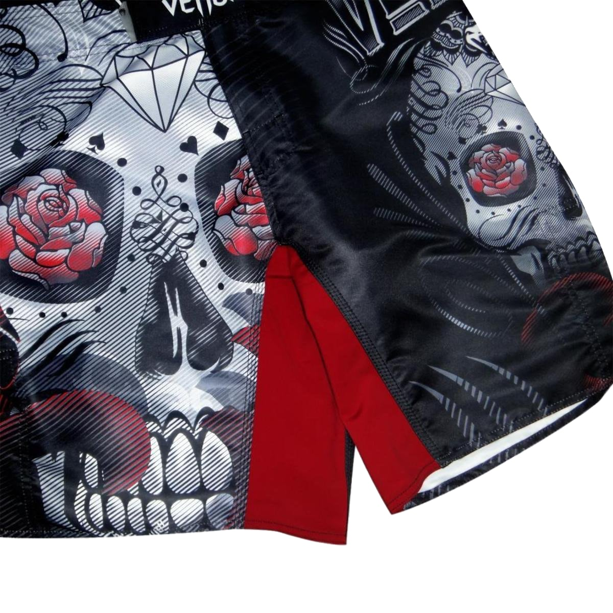Bermuda Venum Skull and Roses - Preto