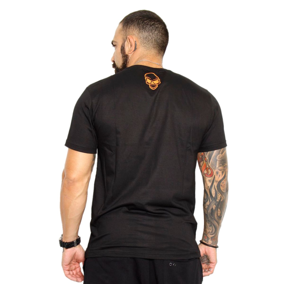 Camiseta Kvra Cross Combat - Preto