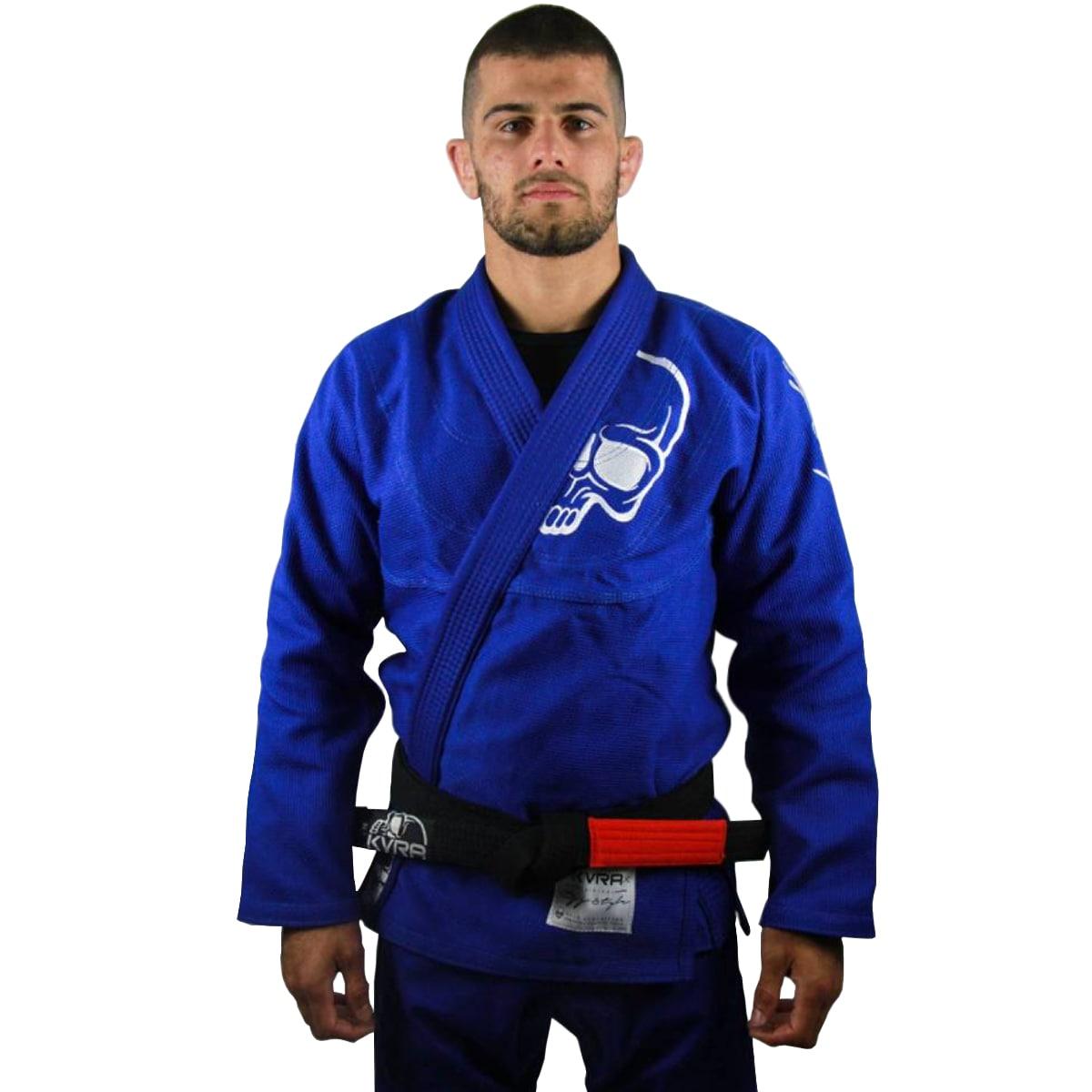 Kimono Jiu-Jitsu Adulto Kvra BJJ Style Future - Azul