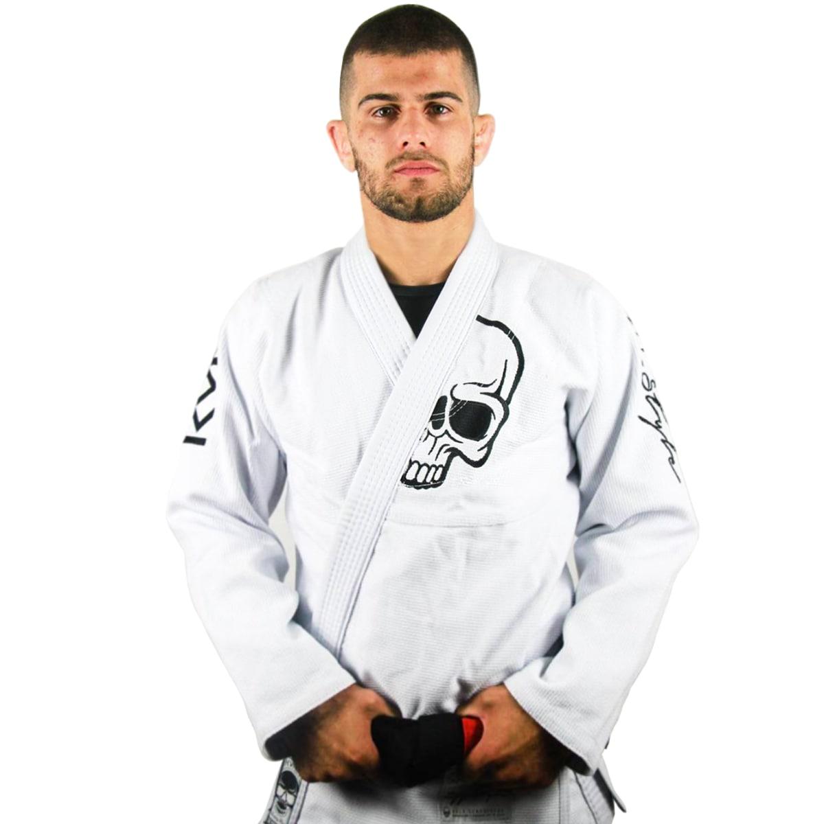 Kimono Jiu-Jitsu Adulto Kvra BJJ Style Future - Branco