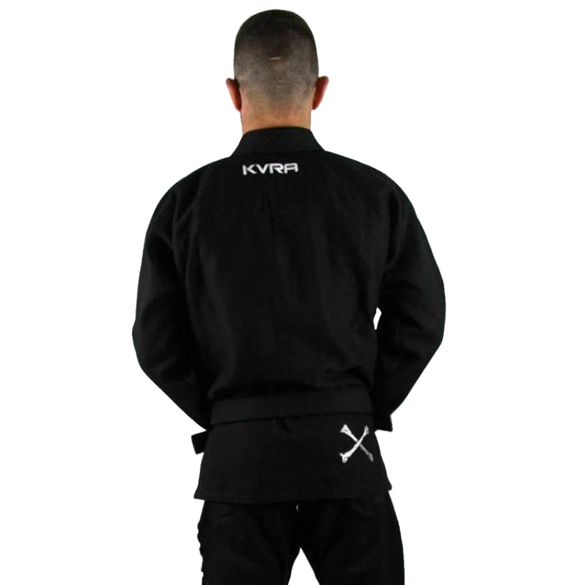 Kimono Jiu-Jitsu Adulto Kvra BJJ Style Future - Preto