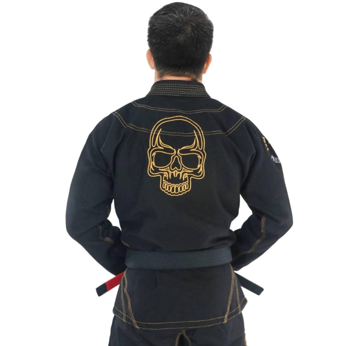 Kimono Jiu-Jitsu Adulto Kvra Shadow - Preto