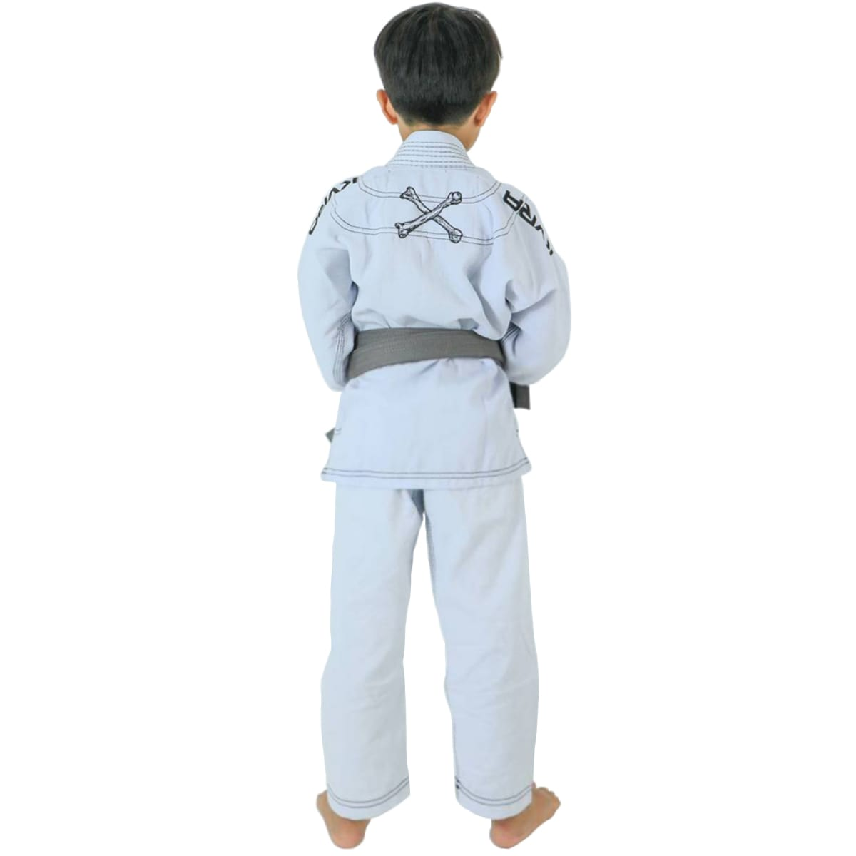 Kimono Jiu-Jitsu Infantil Kvra Alfa - Branco