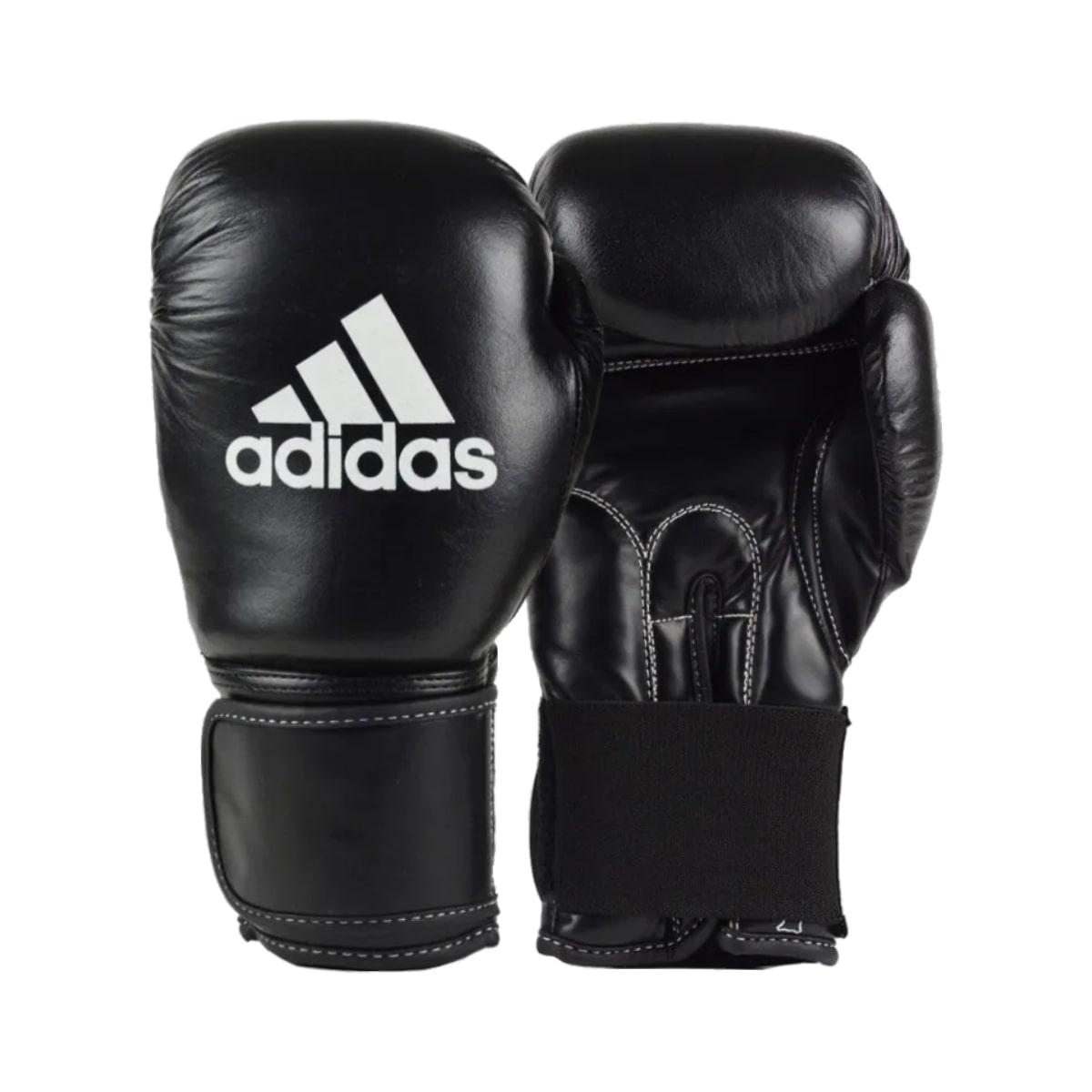 Luva Boxe Adidas Performer Couro - Preto