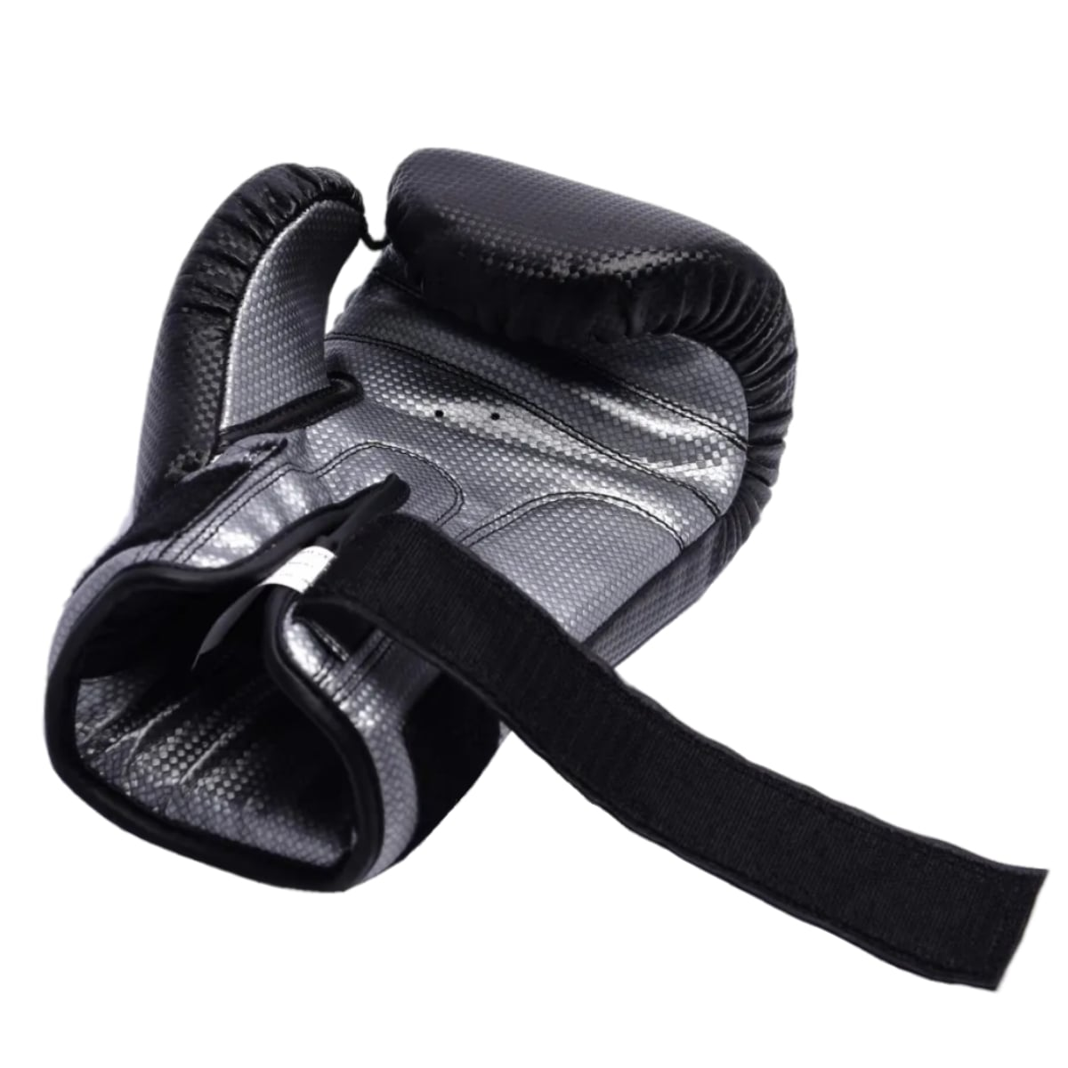 Luva Boxe MKS New Prospect - Preto e Prata