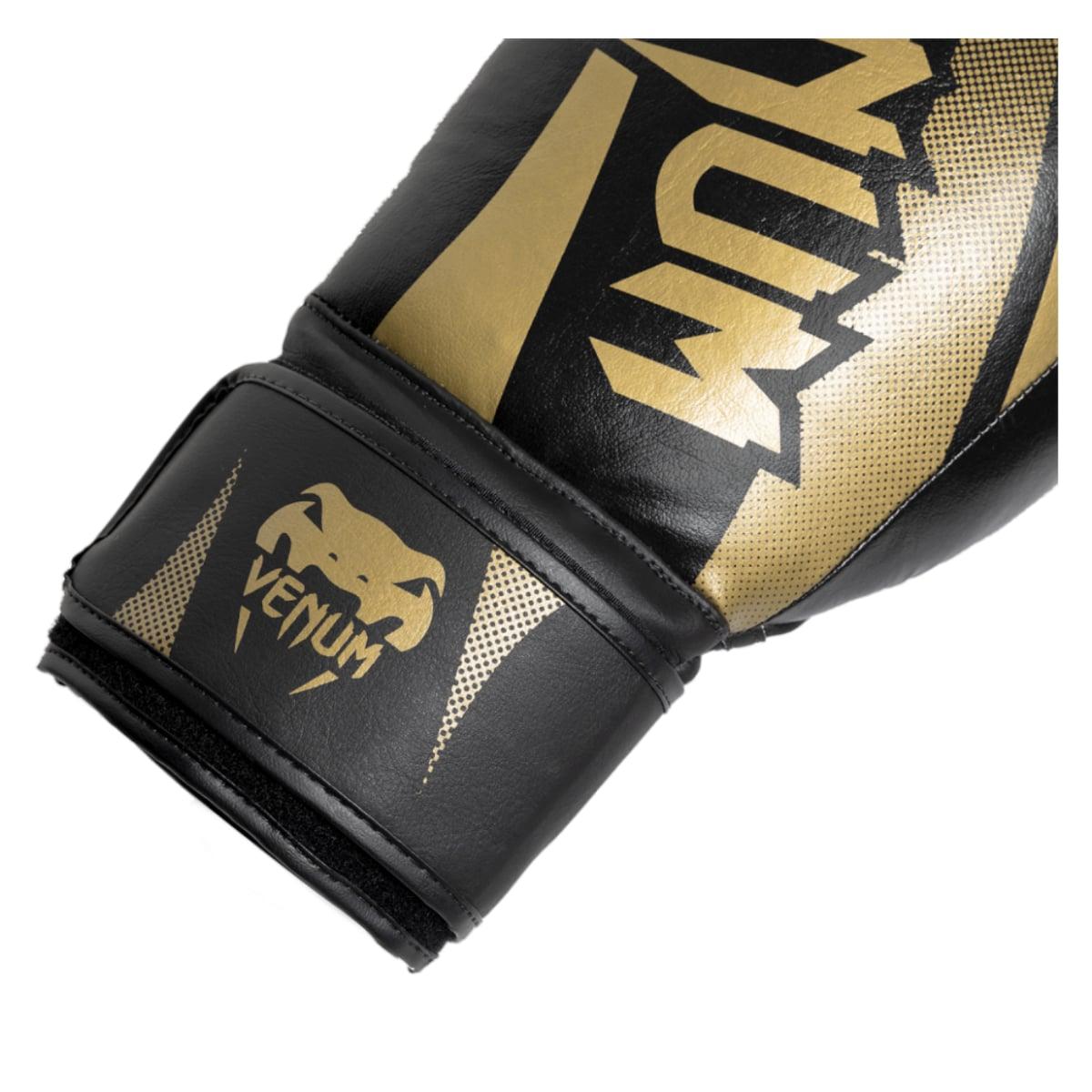 Luva Boxe Venum New Challenger - Dourado