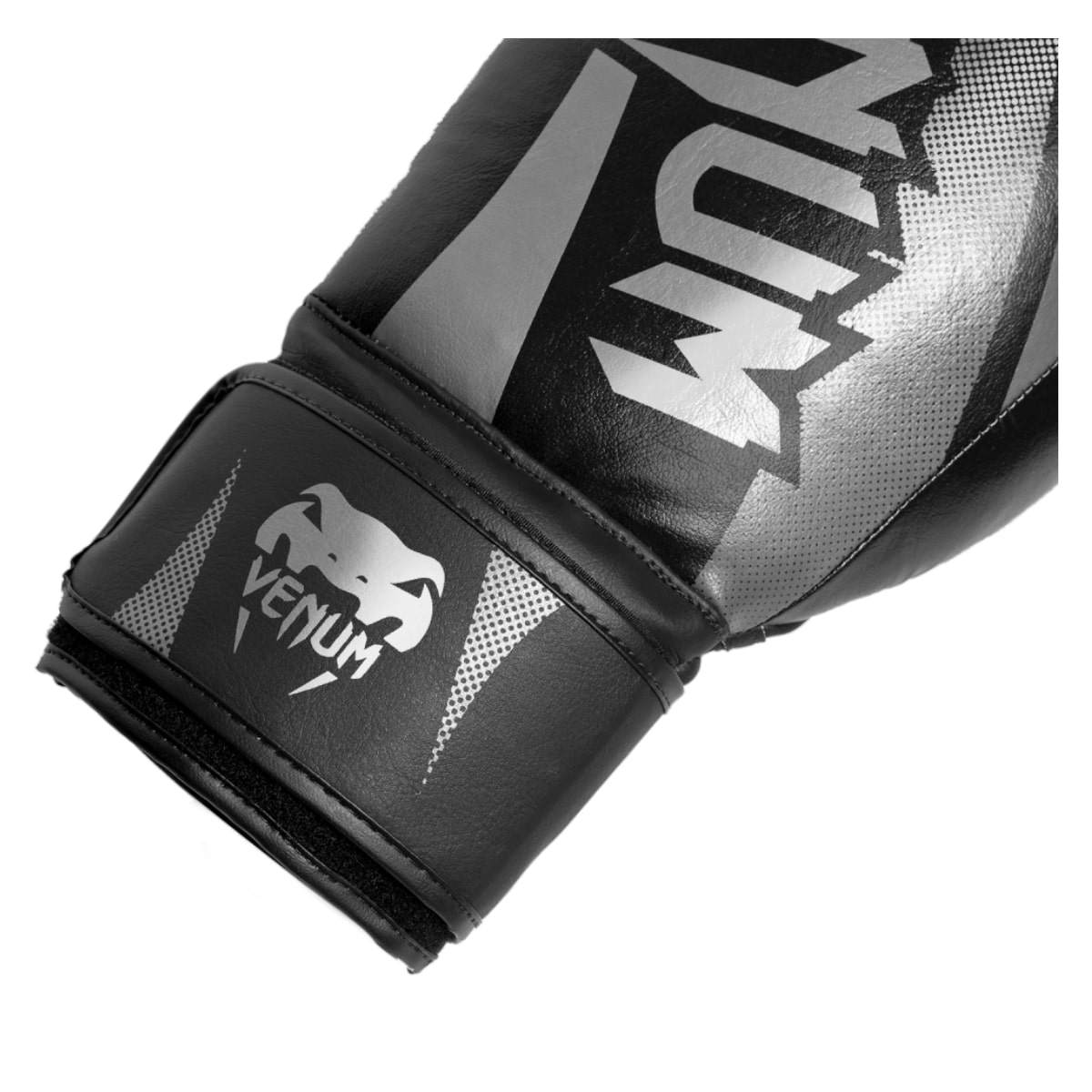 Luva Boxe Venum New Challenger - Prateado