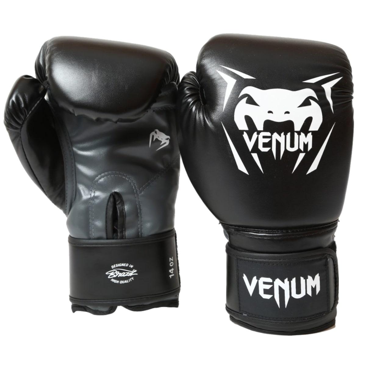 Luva Boxe Venum New Contender - Preto