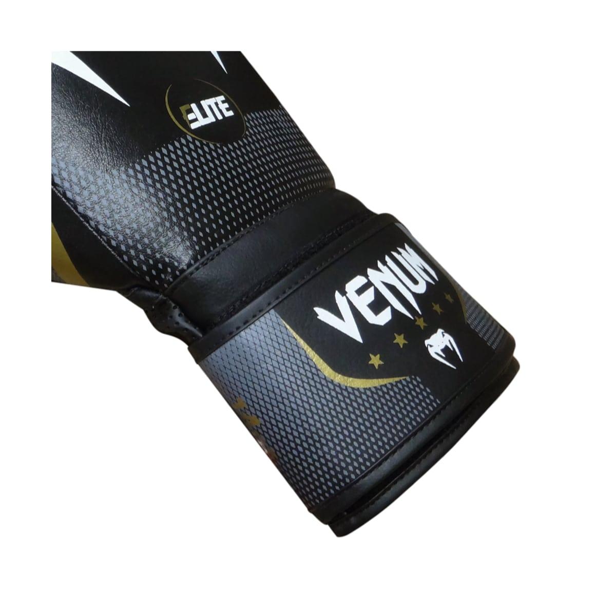 Luva Boxe Venum New Elite 2.0 - Preto