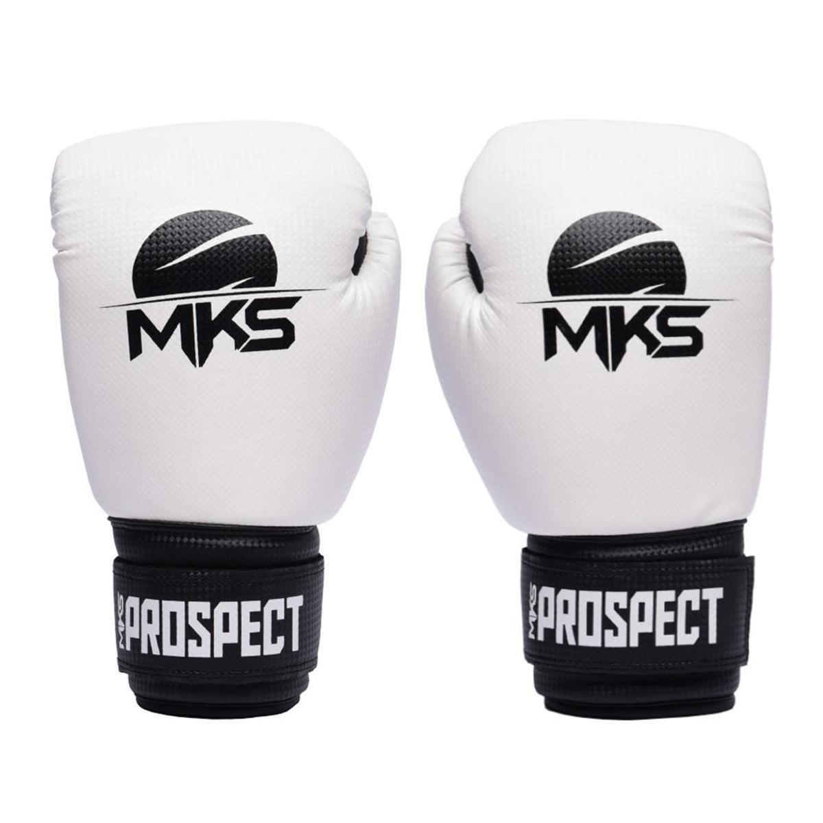 Luva Boxe MKS New Prospect - Branco