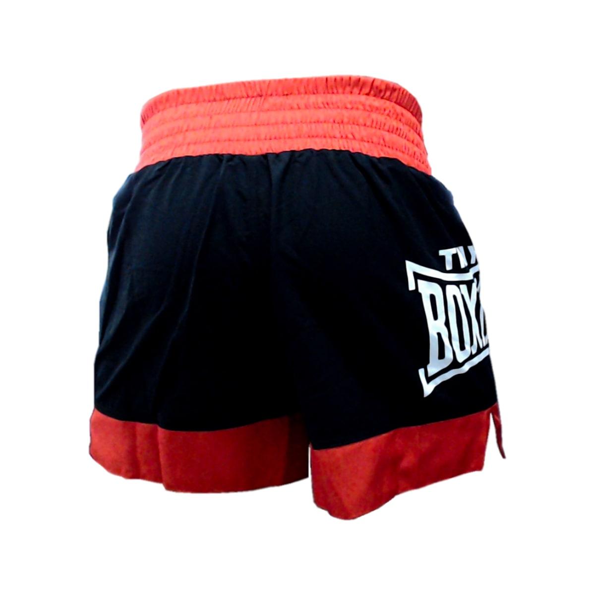 Short Rudel Thai Boxing MF - Vermelho