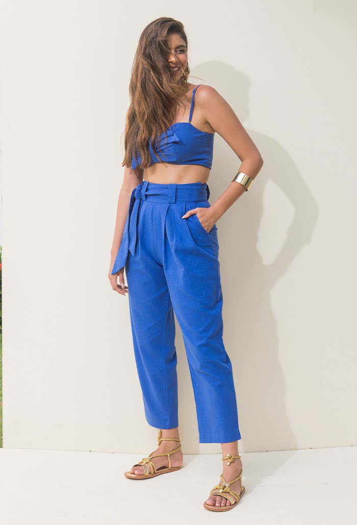 CROPPED LINEN