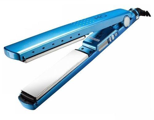 Prancha Mq Pro titanium Original Azul Bivolt