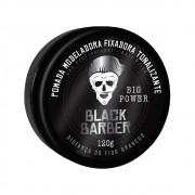 Muriel Pomada Modeladora Fixadora Black Barber Tonalizante Big Power 120g