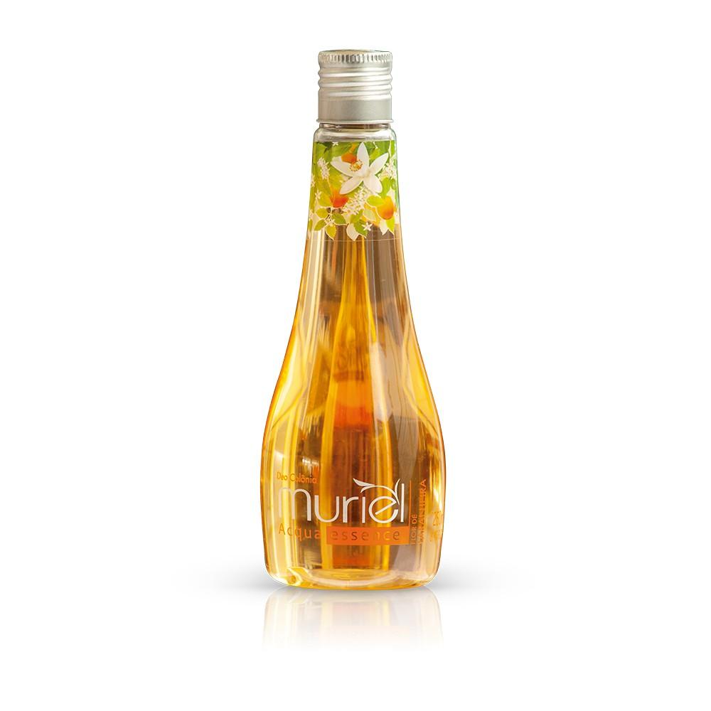 Água de Banho Muriel Acqua Essence Flor de Laranjeira ação desodorante 250ml