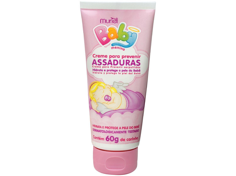 Muriel Creme para Assadura Baby Menina 60g