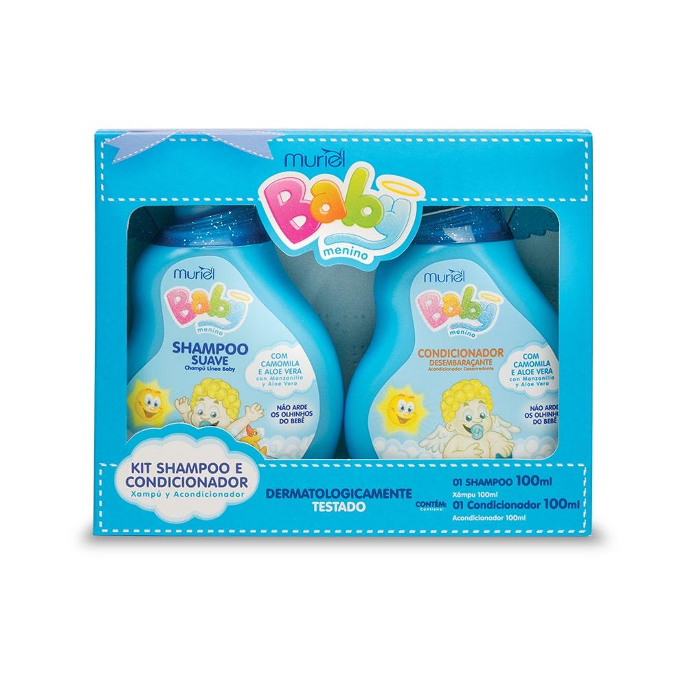 Muriel Kit Baby Menino Shampoo e Condicionador - 100ml