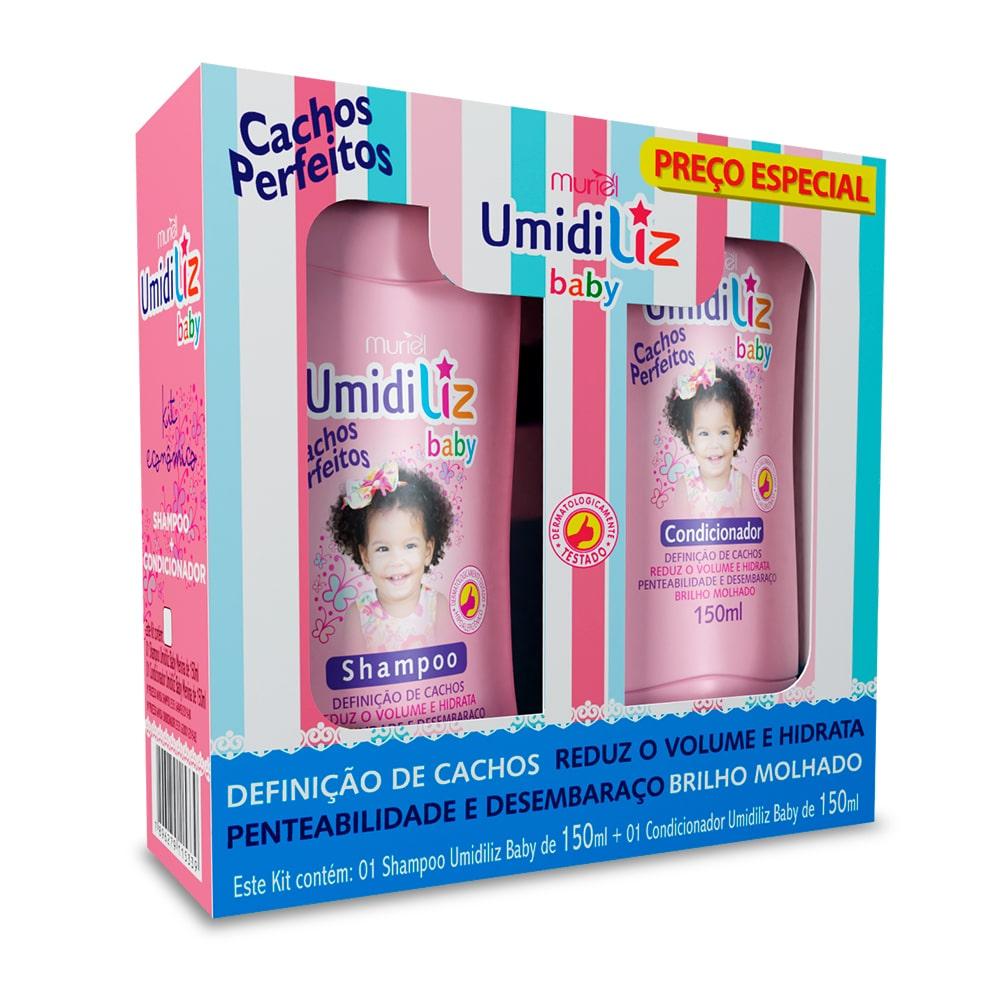 Muriel Kit Umidiliz Baby Menina Shampoo e Condicionador 150ml