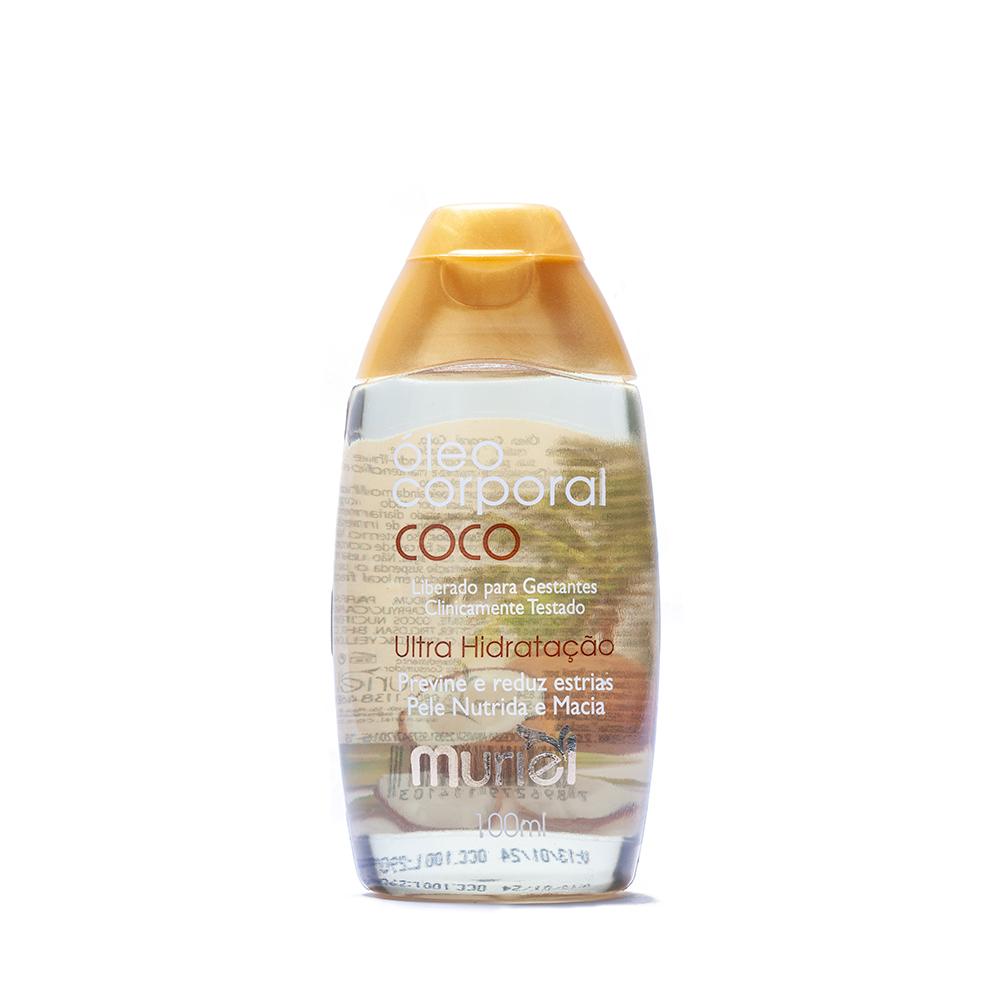 Óleo Corporal Coco 100ml ação desodorante