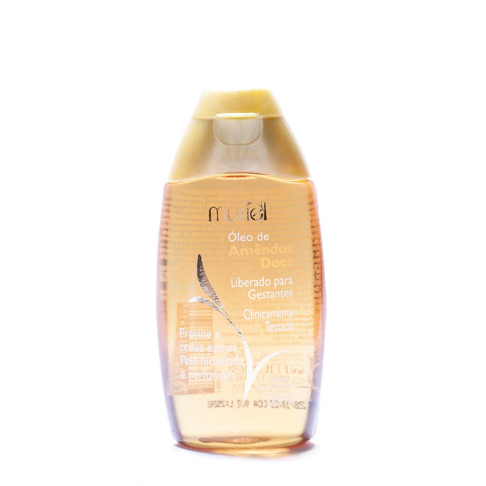 Óleo corporal de Amêndoas Doce 100ml ação desodorante