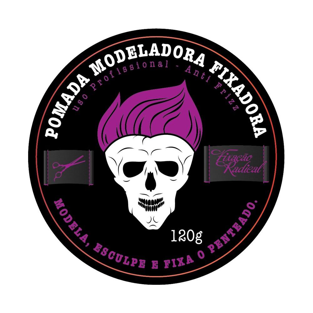 Muriel Pomada Capilar Condicionante Modeladora Studio Hair Fixação Radical 120g