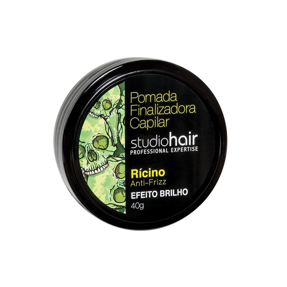 Muriel Pomada Finalizadora Capilar Studio Hair Rícino Efeito Brilho 40g