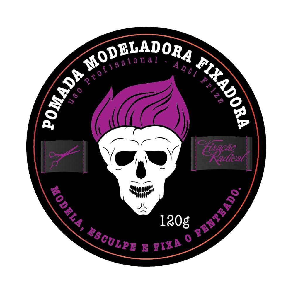 Muriel Pomada Modeladora Fixadora Studio Fixação Radical 120g