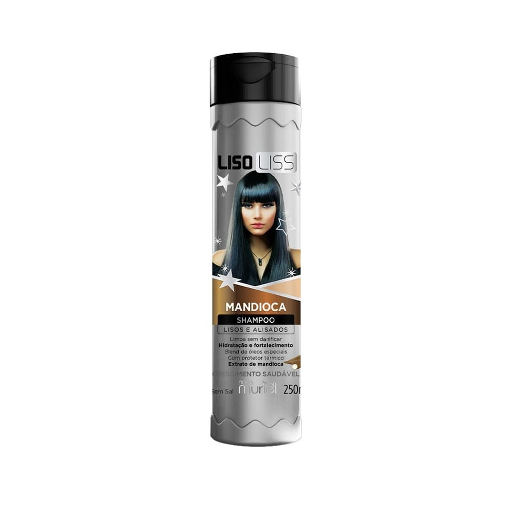 Muriel Shampoo LisoLiss Mandioca 250ml