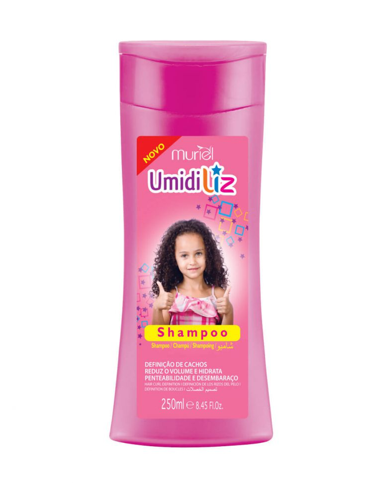 Muriel Shampoo Umidiliz Cachos Perfeitos Menina 250Ml