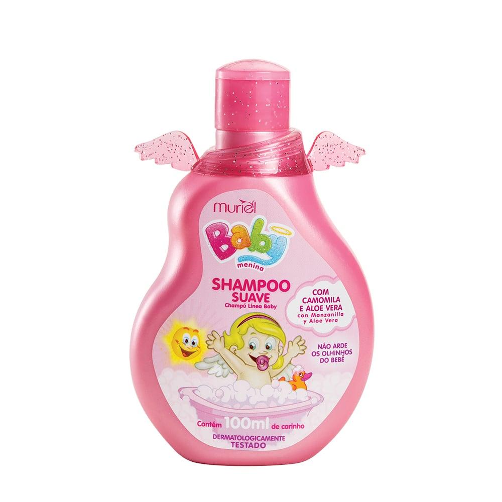 Shampoo Para Bebê Infantil Menina Baby Muriel 100ml