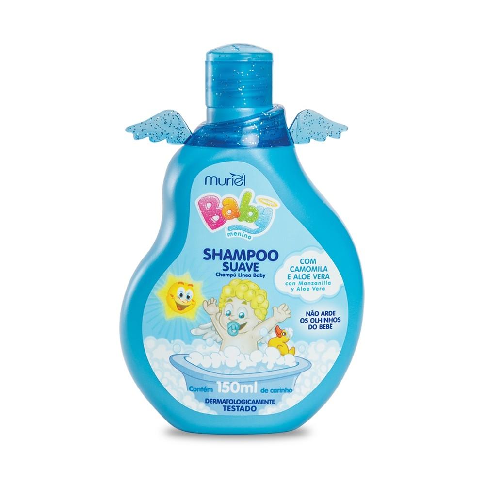 Shampoo Para Bebê Infantil Menino Baby Muriel 150ml