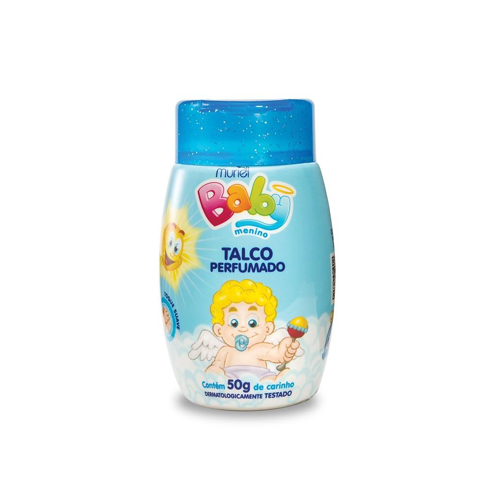 Talco Perfumado Muriel Para Bebê Menino Baby Menino 50g
