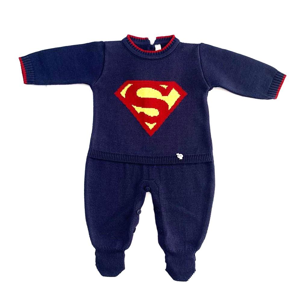 Kit Macacão com Manta Super Bebê