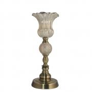 Castiçal Bronze Ipom M 38 Cm