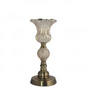 Castiçal Bronze Ipom P 34,5 Cm