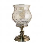 Castiçal Bronze  Luna G 36 Cm