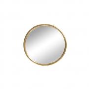 Espelho Redondo Dourado Clark P 40 Cm